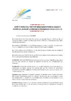 13- Arrêté marché hebdo – COVID 19 – modifié et signé