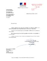 Réponse de Monsieur le Directeur Départemental de la Sécurité Publique 4 janvier 2018