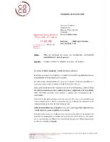 Lettre CGCB avocats et associés 15.01.2018