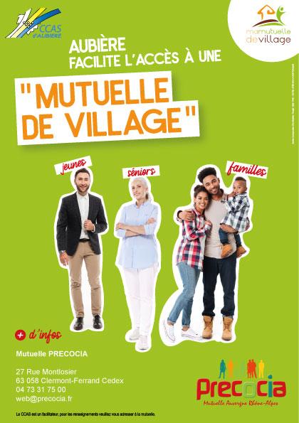 Affiche_Mutuelle de village Aubière