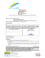 Autorisation de travaux (MAJ août 2019)