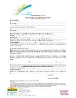 Déclaration de dispersion de cendres sur une concession  (MAJ août 2019)